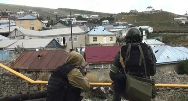 Special operation in Dagestan. Photo: http://nac.gov.ru