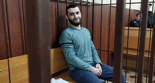 "Abdulmumin Gadjiev in the courtroom. Photo from the website of the Human Rights Centre (HRC) ""Memorial"", memohrc.org"
